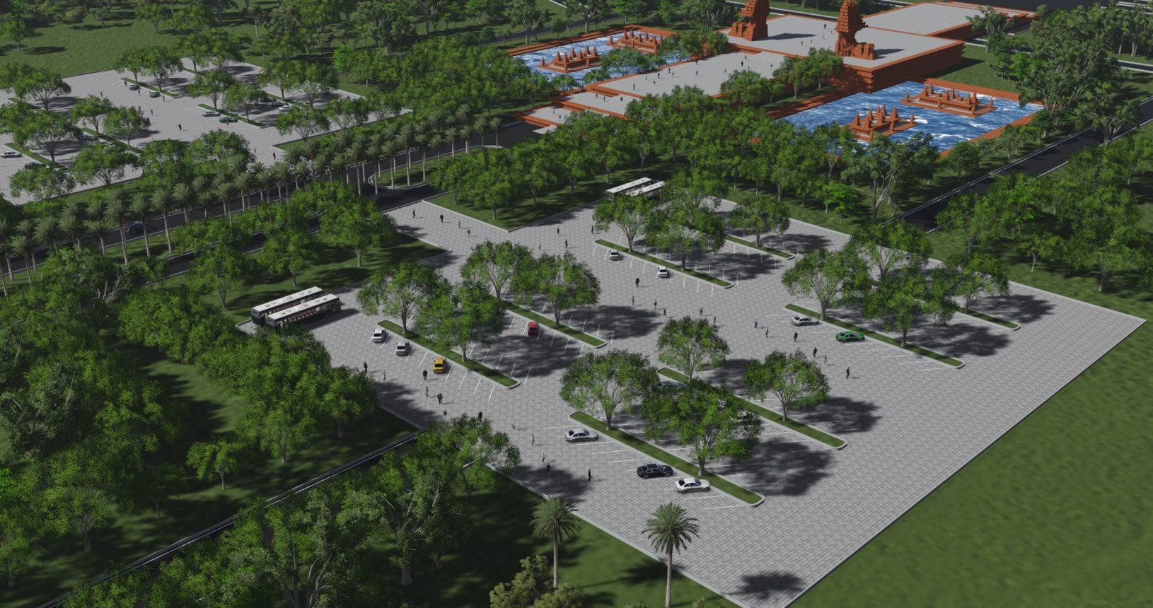 area-parkir-utama-taman-perdamaian-dunia