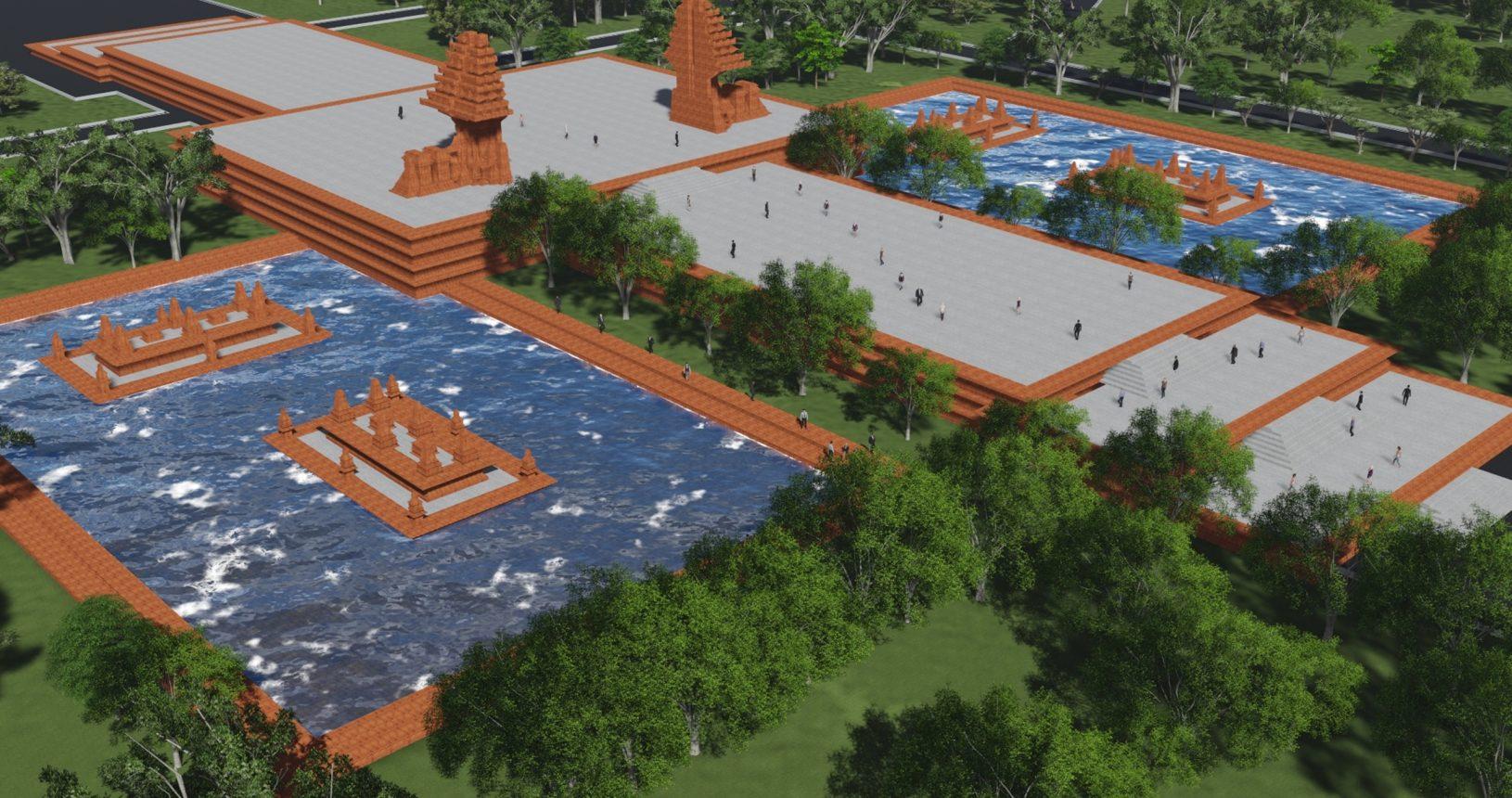 plaza-kolam-segaran-taman-perdamaian-dunia-soerjo-modjopahit